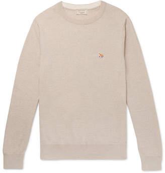 MAISON KITSUNÉ Mélange Wool Sweater