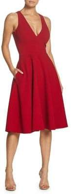 Dress the Population Catalina Classic Fit-and-Flare Dress