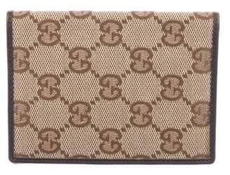 Gucci GG Canvas Card Holder