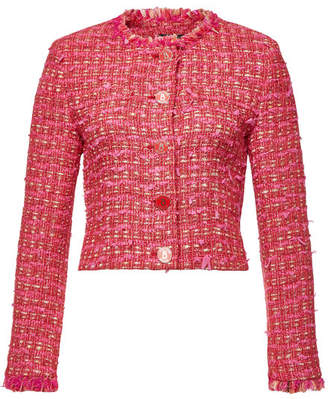 Moschino Tweed Blazer with Cotton