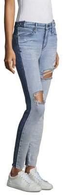 RtA Gypsy Distressed Skinny Jeans