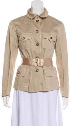 Prada Collared Long Sleeve Jacket