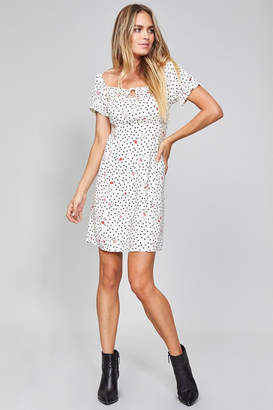 MinkPink Mid-Summer Dotted Dress