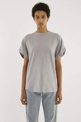 3.1 Phillip Lim Pierced Short-Sleeve Top