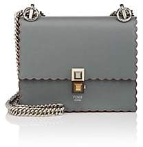 Fendi Women's Kan I Mini Leather Shoulder Bag - Green