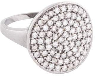 Sydney Evan 14K Diamond Pavé Disc Ring