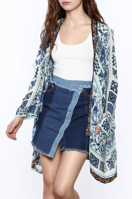Johnny Was Oversized Open Kimono $276 thestylecure.com