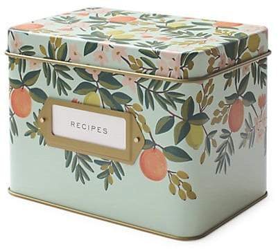Rifle Paper Co. Citrus Recipe Box