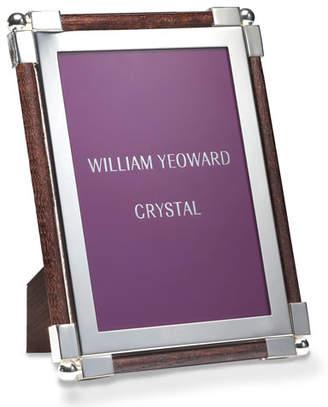 "William Yeoward Classic Faux-Ebony 5"" x 7"" Picture Frame"