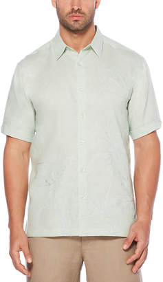 Cubavera 100% Linen Tropical Show Stopper Shirt