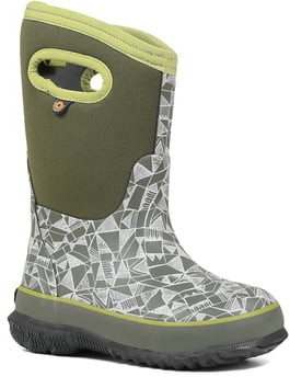 Bogs Classic Maze Geo Insulated Waterproof Boot