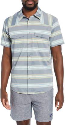 Patagonia Bandito Slim Fit Plaid Short Sleeve Sport Shirt