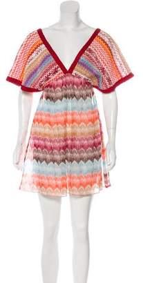 Missoni Mare Printed Mini Dress