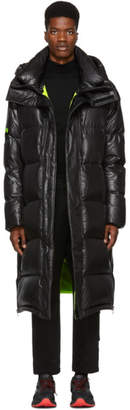 Juun.J Black Long Puffer Down Coat