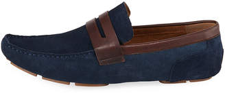 Kenneth Cole Men's Suede Two-Tone Driver