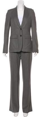 Gucci Wool Peak-Lapel Pantsuit