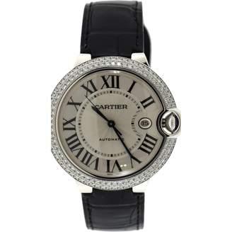 Cartier Ballon bleu Black White gold Watches