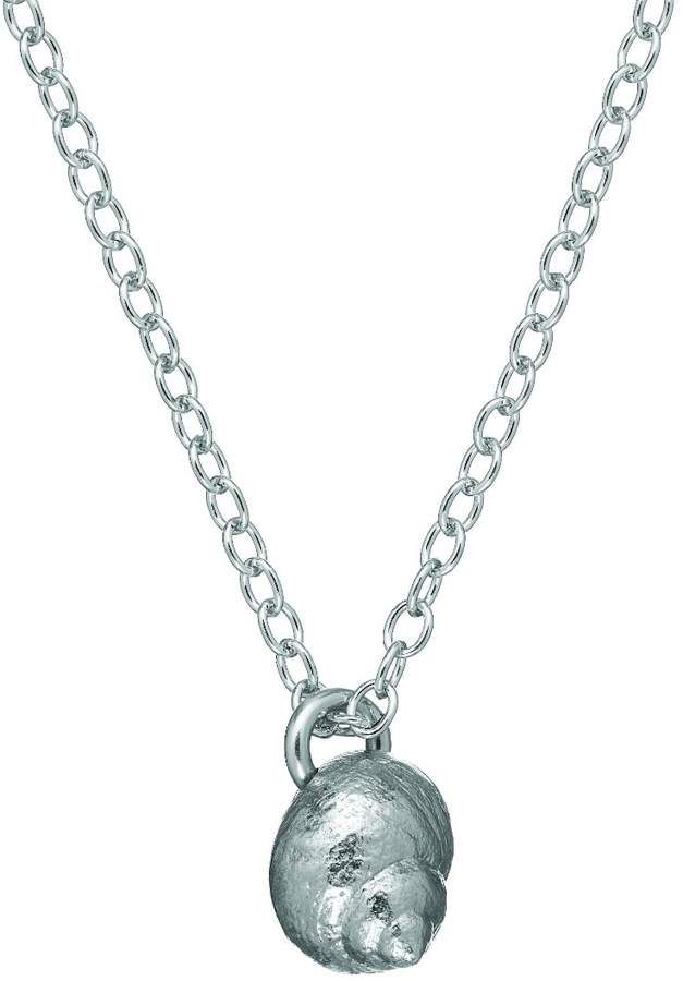 Chupi - Home Is Wherever I'm With You Seashell Necklace In Silver