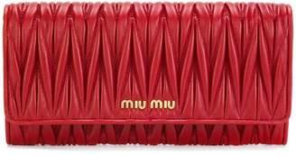 Miu Miu (ミュウミュウ) - Miu Miu マテラッセ 長財布