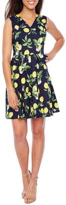 Chetta B BE BY Be by Sleeveless Fit & Flare Dress