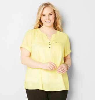 Avenue Zip Pocket Equipment Shirt