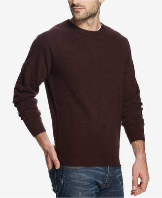 Weatherproof Vintage Men Soft Touch Textured Raglan-Sleeve Sweater