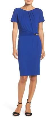 Ellen Tracy Stretch Sheath Dress