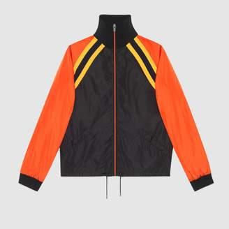 Gucci Nylon jacket with logo