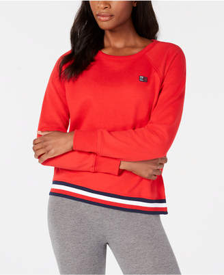 Tommy Hilfiger Striped-Hem Sweatshirt