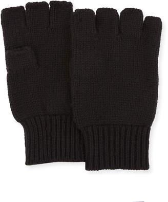 Neiman Marcus Cashmere Fingerless Gloves