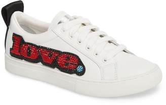Marc Jacobs Empire Love Embellished Sneaker
