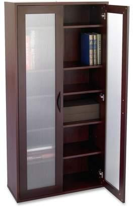 Safco, SAF9443MH, Apres Modular Storage Tall Cabinet, 1 Each, Mahogany
