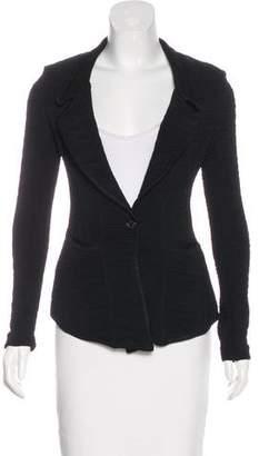Givenchy Knit Notch-Lapel Blazer