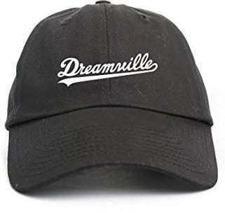 ddce0174 CUSTOM Dreamville J cole Black Unstructured Hat