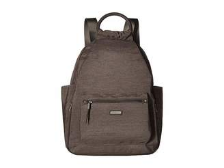 Baggallini New Classic Heritage All Day Backpack with RFID Phone Wristlet