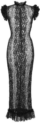 Dolce & Gabbana Stretch Lace Sheath Dress $1,895 thestylecure.com