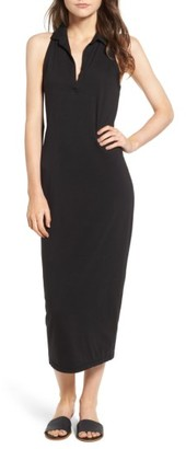 Women's James Perse Polo Tank Maxi Dress $195 thestylecure.com