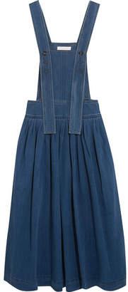 Chloé - Denim Midi Dress - Blue