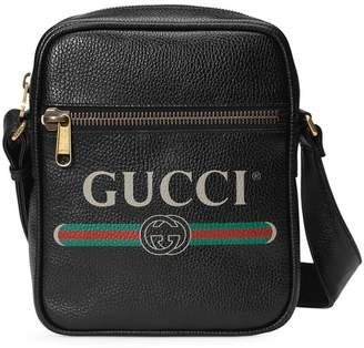 Gucci (グッチ) - Gucci プリント メッセンジャーバッグ