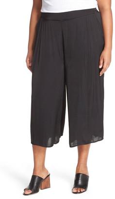 Vince Camuto Rumple Culotte (Plus Size) $109 thestylecure.com