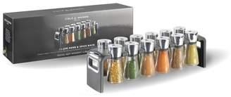 Cole & Mason 'Shaw' Herb And Spice 12 Jars Rack Set