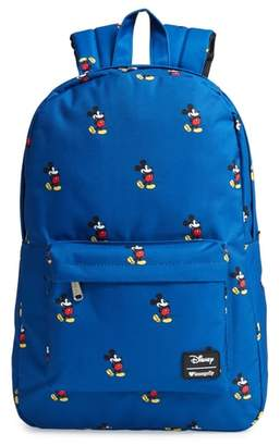 Loungefly x Disney Mickey Mouse Nylon Backpack