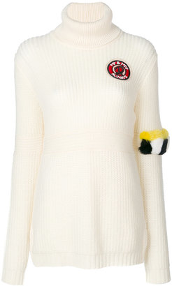 Mr & Mrs Italy patch detail jumper