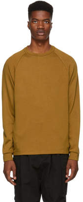 Nanamica Tan Long Sleeve Dualwarm T-Shirt