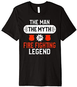 DAY Birger et Mikkelsen Firefighter T-shirt for Men Fireman Dad Father's Gift