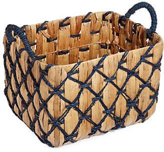 DISTINCTLY HOME Large Crisscross Basket