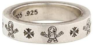 Chrome Hearts Engraved Stacking Band