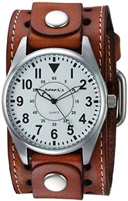 Nemesis Men's BSTH095W Collection Dial Presition Display Watch