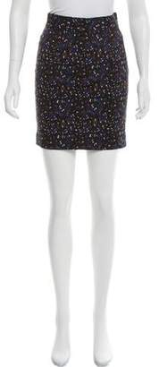 Tanya Taylor Printed Mini Skirt