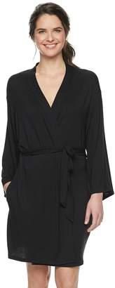 Sonoma Goods For Life Women's SONOMA Goods for Life Knit Wrap Robe